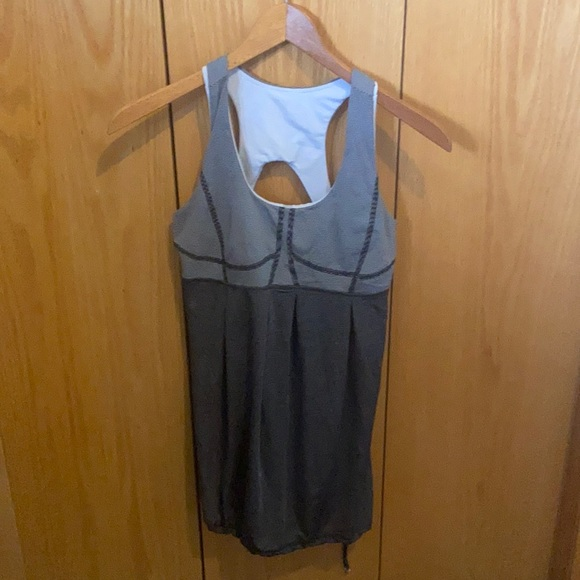 Lululemon work out tank with built in bra